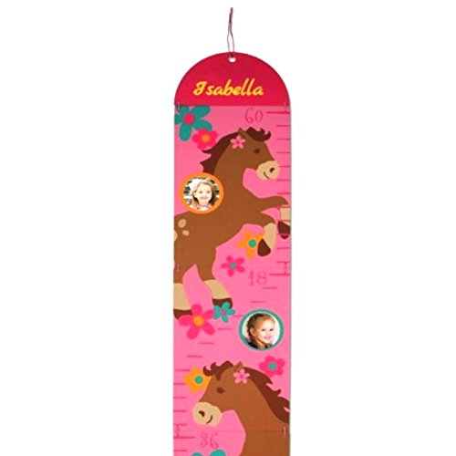 Personalized Photo Growth Chart (Horses) (Chart Personalized Dinosaur Growth)