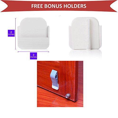 door stopper rubber door stops decorative baby safety premium door stop with free