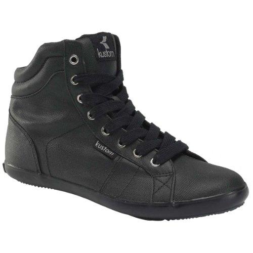 Damen Sneaker Kustom Pepper black waxed