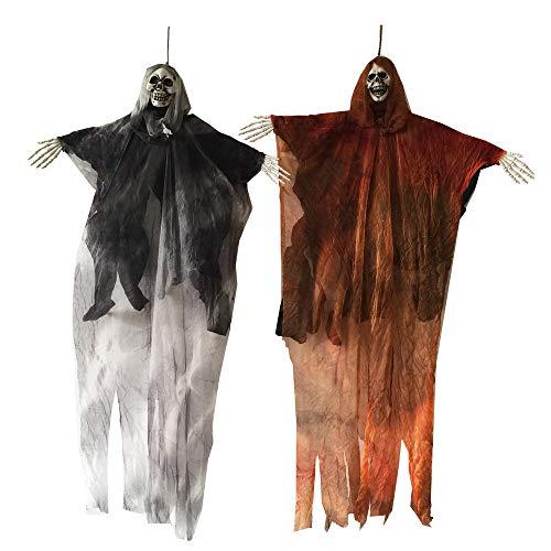 Halloween Hanging Ghost Skeleton Reaper for Halloween Decorations