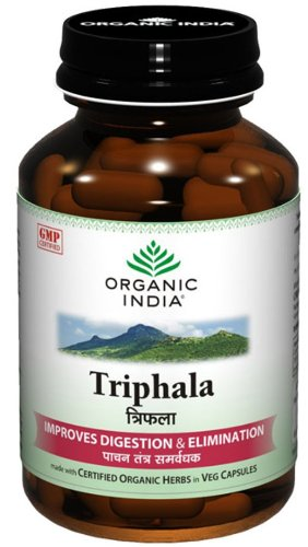 Healthcenter Organic India Triphala - 60 Capsules by Healthcenter