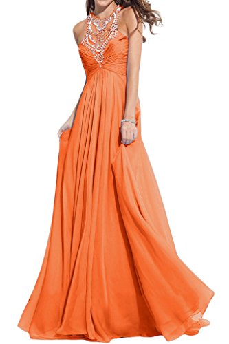 Missdressy - Vestido - trapecio - para mujer Arancione