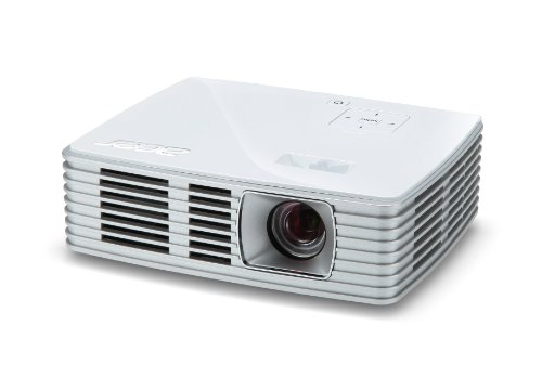 Acer K132 WXGA DLP LED Projector, 600 Lumens, HDMI/MHL, White by Acer (Image #1)