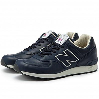 65a17c4b81c27 Amazon   (ニューバランス) NEW BALANCE メンズ スニーカー M576 Made in ENGLAND UKモデル men's  sneaker US8.5(26.5cm) CNN:ネイビー/ベージュ   new ...