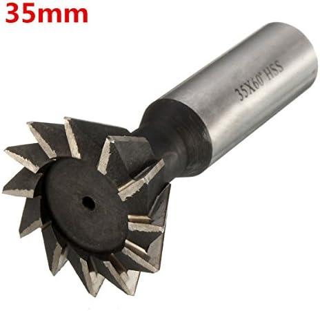 EsportsMJJ 60 Degr/é 10-35 mm Coupeur daronde HSS Bout Droit De La Tige Fraise-16 mm