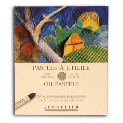 Sennelier Oil Pastel Landscape Set Of 24