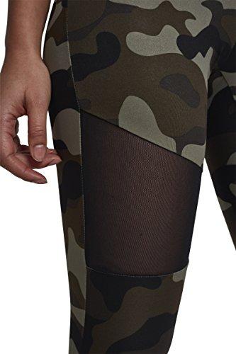 Urban Classics Ladies Camo Tech Mesh Leggings Leggins Sculptant Femme