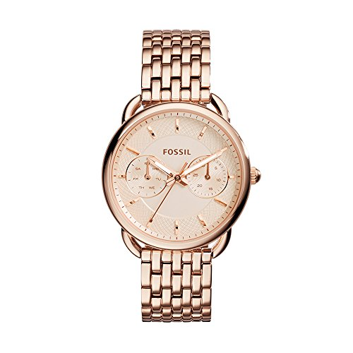 Fossil Women's ES3713 Tailor Multifunction Rose Gold-Tone Stainless Steel (Fossil Multifunction Watch)