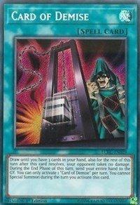 Card of Demise - LCKC-EN029 - Secret Rare - 1st Edition - Legendary Collection Kaiba Mega Pack (1st Edition)