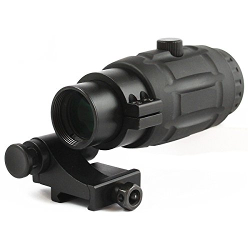 Tac Vector Optics Tactical 3x Magnifier Scope With Quick Flip To