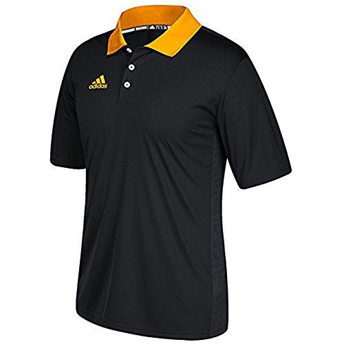 Adidas Gioco Costruito Allenatore Polo Nero-collegiata Oro