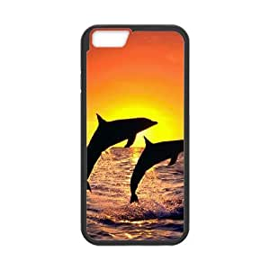 "DDOUGS Dolphin at Sunset Brand New Cell Phone Case for Iphone6 4.7"", DIY Dolphin at Sunset Case"