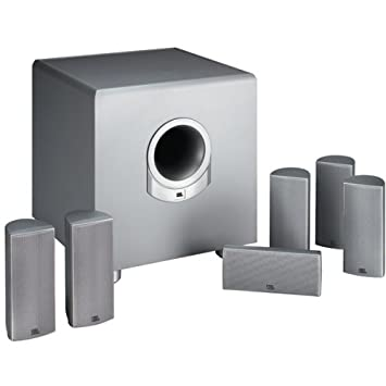 jbl home theater. jbl scs180.6 complete 6.1-channel home cinema speaker system (discontinued by manufacturer jbl theater