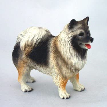 Conversation Concepts Keeshond Standard Figurine Set of 6