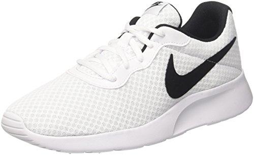 - Nike Men's Tanjun Running Sneaker White/Black 9