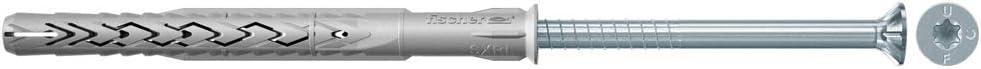 FISCHER 522703 Envase de 50 ud. Taco nylon largo multimaterial SXRL 10X160 T