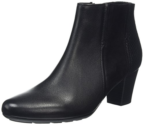 Gabor Shoes Comfort Basic 56.581, Botines Mujer Negro (Schwarz micro 37)