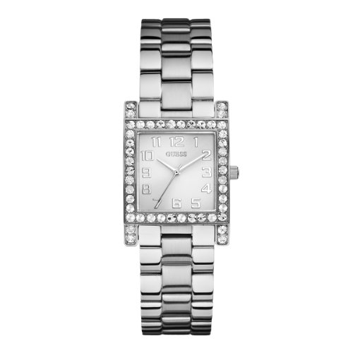 Guess W0128L1 Ladies Silver Dress Watch