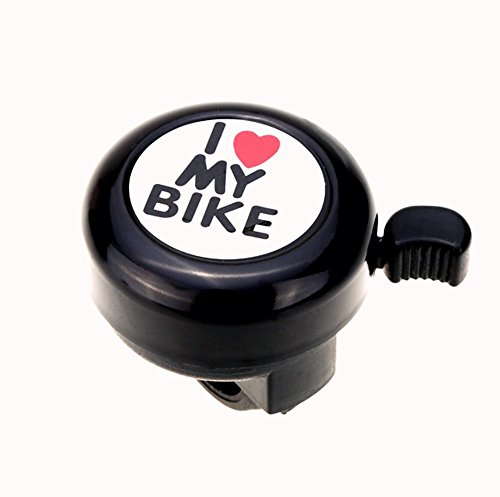 Benran Alloy I Love My Bike Bicycle Bell, Ringer Style Be...