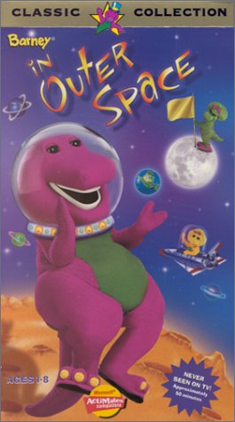 amazon com barney in outer space vhs barney movies tv