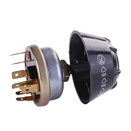 Justdodo Interruptor de luz//bocina del tractor para David Brown International Massey Ferguson