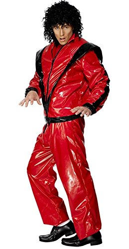 Michael Jackson Thriller Deluxe Costume Adult (Thriller Costumes)
