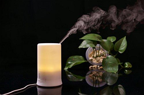 100 мл ультразвуковой Аромат эфирного масла Диффузор увлажнитель с 4 настройки таймера и 7 изменения цвета
