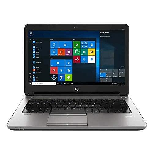 (Renewed) HP Elitebook Laptop 640G1 Intel Core i5 – 4300M Processor, 16 GB Ram & 512 GB SSD, Win10, 14.1 inches, Optical Drive Notebook Computer