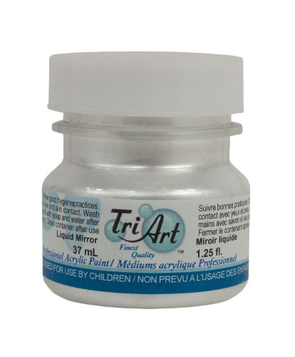 Tri-Art High Viscosity Paint, 37ml, Liquid Mirror by Tri-Art