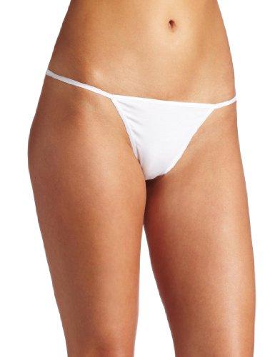 Cosabella Women's Talco g-string Panty, White, One ()