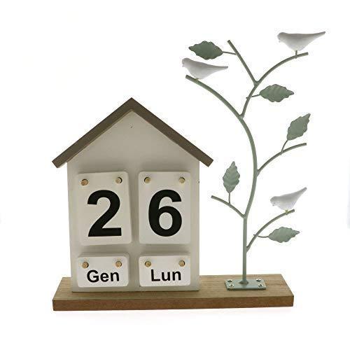 Publilancio srl Volare Briefkalender aus Holz Bonboniere