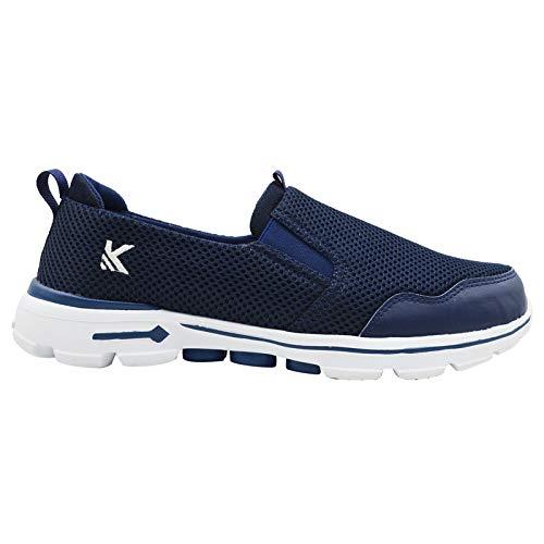 KazarMax Men's Navy Slipon's Walking Sneakers [SKR001-NAVY] Price & Reviews