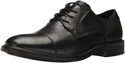 ECCO Men's Knoxville Cap Toe Oxford, Black, 42 EU/8-8.5 M (Ecco Cap Toe Cap)