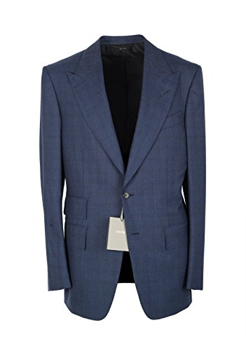 TOM FORD CL Windsor Blue Suit Size 52/42R U.S. Wool Fit - Ford Tom Fit