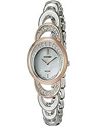 Seiko Womens Jewelry Quartz Stainless Steel Dress Watch (Model: SUP306)