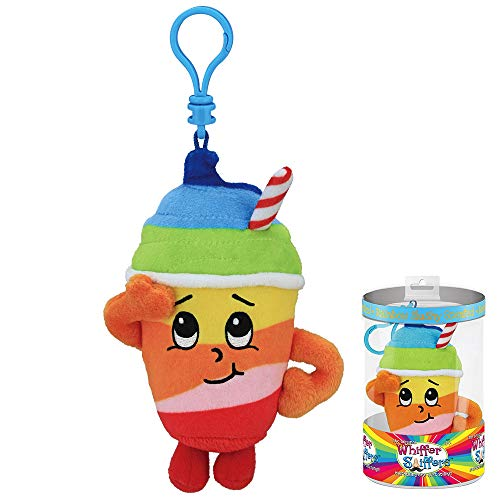 (Whiffer Sniffers Rainbow Slushie Scented Plush Backpack Clip, 5