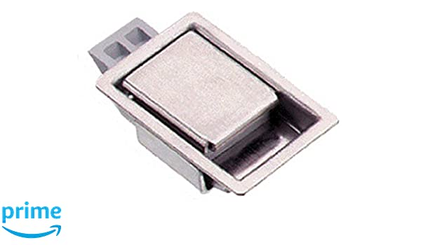 Southco 64-01-10 Miniature Flush Paddle Latch with Installation Hole