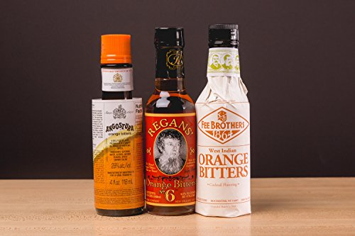 The Orange Cocktail Bitters Collection - 3 Bottles 2 This Complete Collection Includes the Best Brands of Orange Cocktail Bitters. Get Fee Brothers Orange Bitters, Regan's Orange No. 6 and Angostura Orange for one low price! Add Depth and Flavor to Your Cocktails.