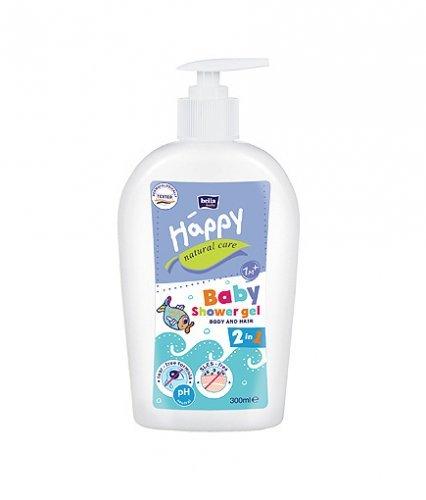 Bella Baby Happy Natural Care Waschgel f. Körper & Haare 300 ml