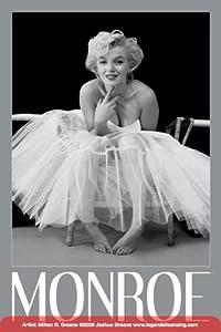 amazoncom marilyn monroeballerina movie poster print