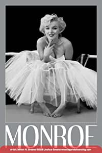 amazoncom marilyn monroeballerina movie poster print