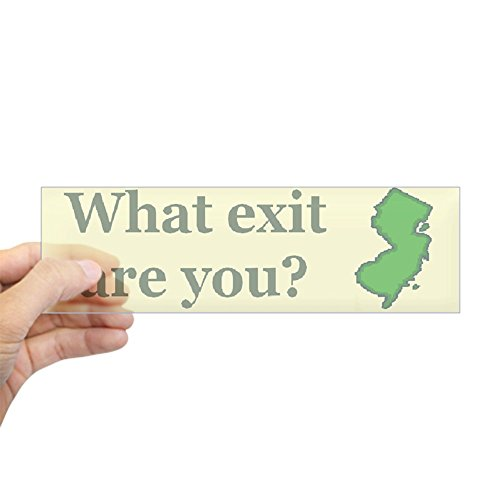 CafePress - What Exit Are You? Bumper Sticker - 10