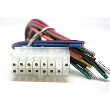 41SCBHVw7 L._SY355_ amazon com best kits clarion 16 pin original head unit wiring clarion wiring harness at creativeand.co