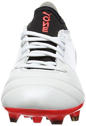 Puma de Fútbol Zapatillas Hombre Blanco One para AG 3 17 fWfgO6U