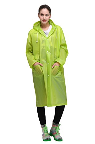 Outry Lightweight Poncho Raincoat Pockets