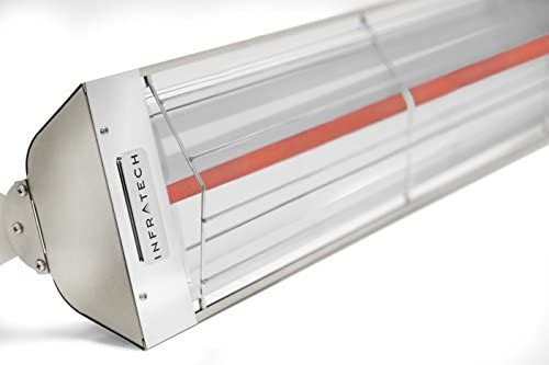 Infratech W3024SS Single Element - 3000 Watt Electric Patio Heater, Choose Finish: Stainless Steel
