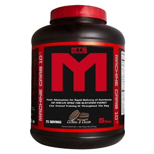 MTS Nutrition Carb 10 (Cookies & Cream, 5 Pounds)