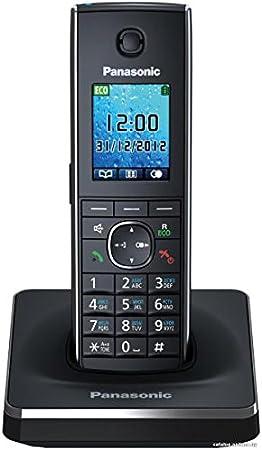 Panasonic KX-TG8551JT - Teléfono fijo digital (inalámbrico, pantalla LCD, identificador de llamadas), negro (importado): Amazon.es: Electrónica