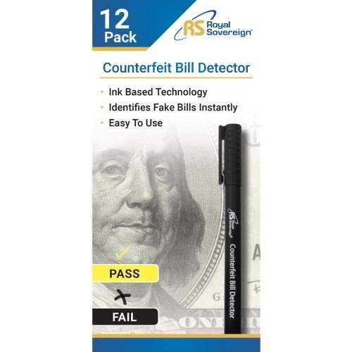 Royal Sovereign 12 COUNTERFEIT BILL DETECTOR by Royal Sovereign International
