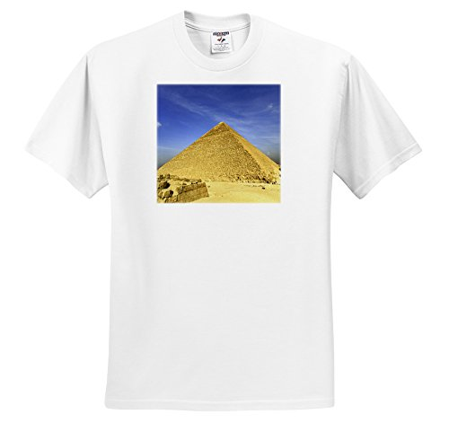 3dRose Danita Delimont - Egypt - Great Pyramid of Giza, Khufu, Cheops, Cairo, Egypt-AF14 AJE0019 - Adam Jones - T-Shirts - Adult T-Shirt Large (ts_71646_3)